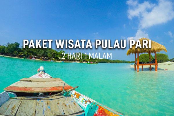 Paket Wisata Pulau Pari 2 Hari 1 Malam  Travel Pulau Seribu